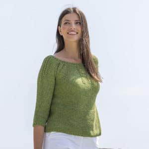 Kit pull à tricoter