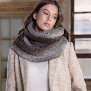 Kit snood à tricoter