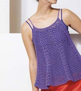 Kit haut à tricoter