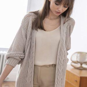 Kit gilet à tricoter