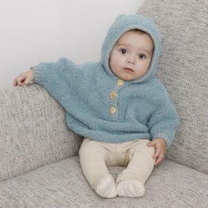 Kit poncho à tricoter